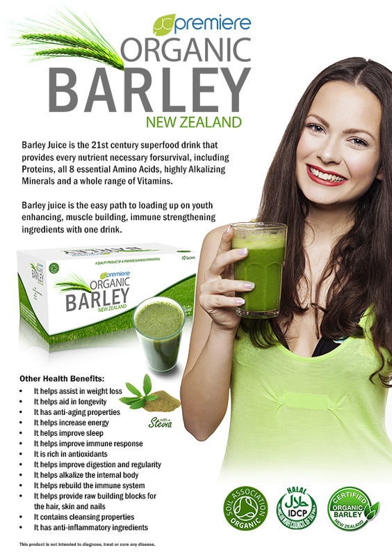 Organic Beauty Products >> Organic Barley Juice - JC Premiere Team All Stars